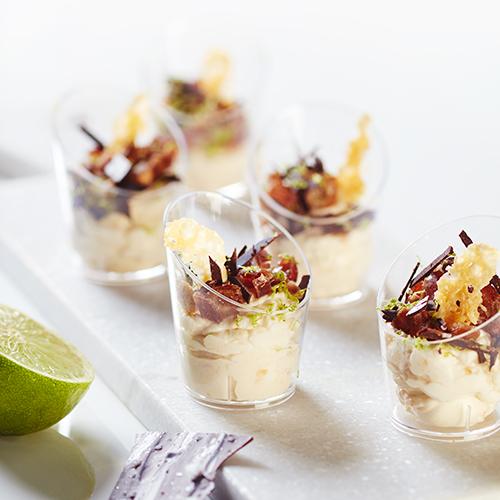 Juliga fikon med färskost, salt choklad och Allerum