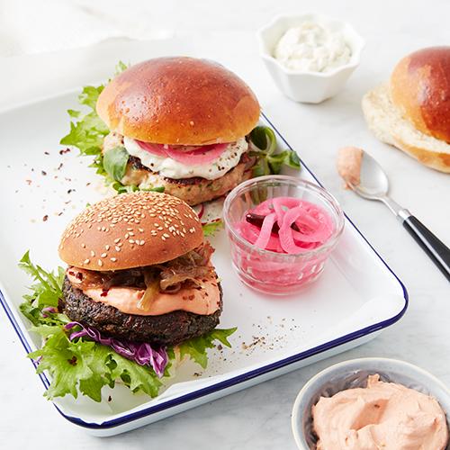 Sesamhamburgerbröd
