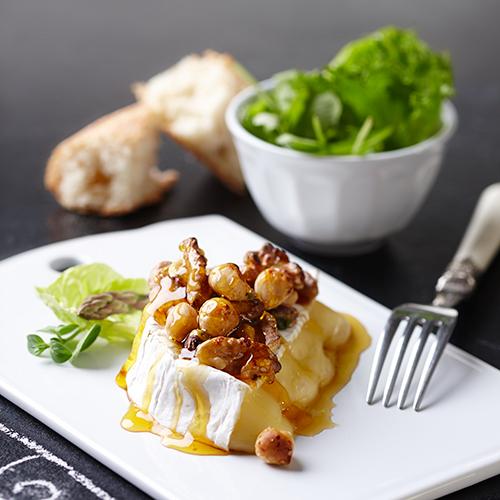 Gratinerad Camembert