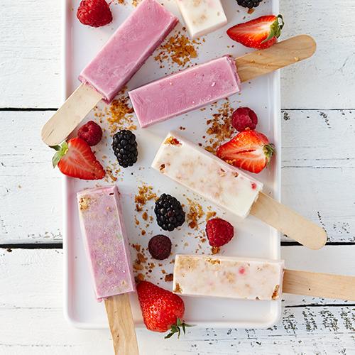 Frozen yoghurt med mÜsli