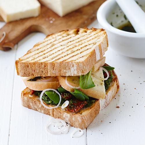 Toast med Taleggio