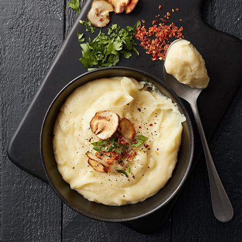 Mos på potatis och jordärtskocka