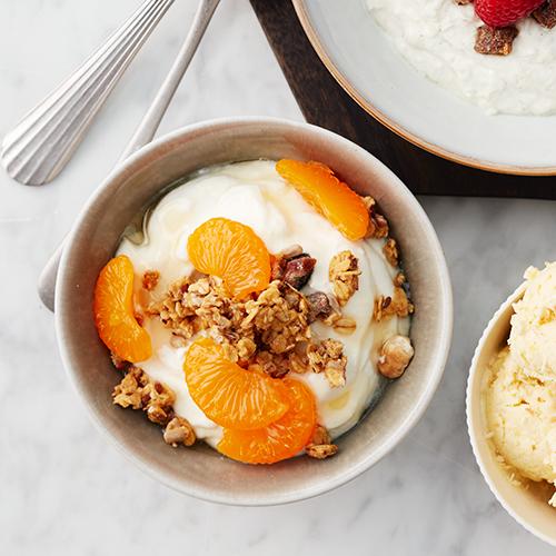 Yoghurt med mandariner