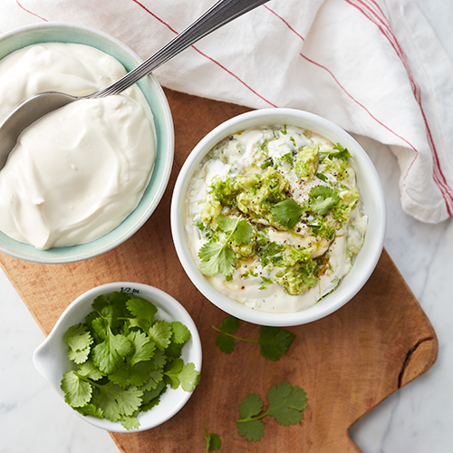 Avokado och limesås