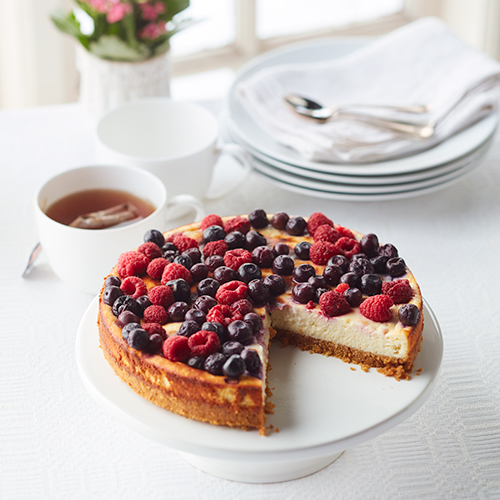 Enkel cheesecake