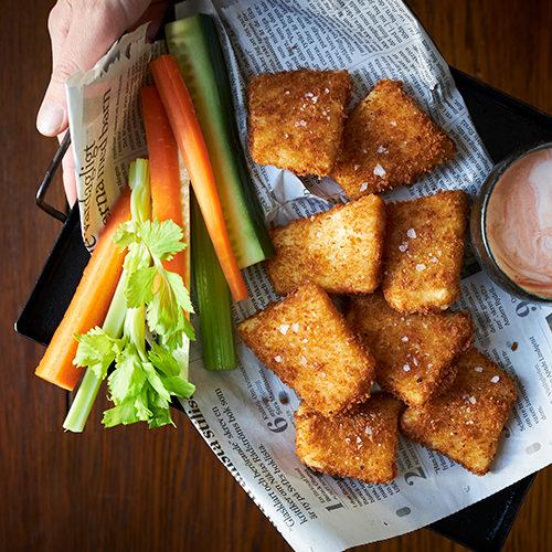 Pannoumi nuggets