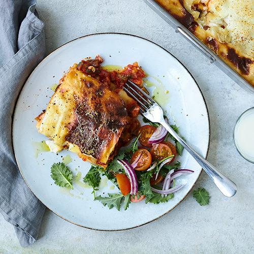 Pannoumi lasagne